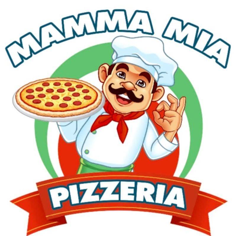 logo pizza regie mamma mia